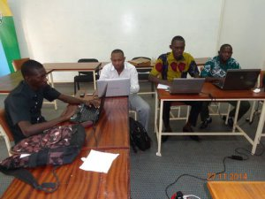 Training of webmasters as part of the design of the AEG website